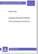 Cardanos Encomium Neronis