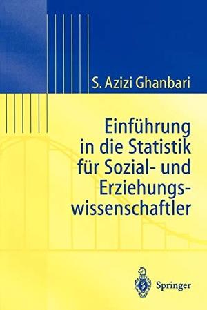 Shahram Azizi Ghanbari. Einführung in Die Statist