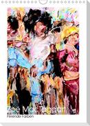 Zoë MacTaggart - Flirrende Farben (Wandkalender 2021 DIN A4 hoch)