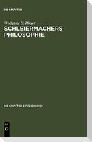 Schleiermachers Philosophie