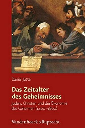 Daniel Jütte. Das Zeitalter des Geheimnisses - Juden, Christen und die Ökonomie des Geheimen (1400–1800). Vandenhoeck & Ruprecht, 2012.