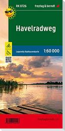 Havelradweg, Radkarte 1:60.000