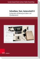 Schreiben, Text, Autorschaft