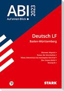 STARK Abi - auf einen Blick! Deutsch Baden-Württemberg 2023