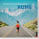 World's Most Beautiful Runs 2022 Wall Calendar