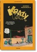 """George Herrimans """"Krazy Kat"""". Die kompletten Sonntagsseiten in Farbe 1935-1944"""