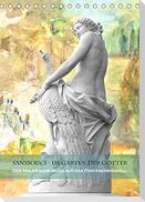 Sanssouci - Im Garten der Götter. Der andere Blick auf das Fontänenrondell (Tischkalender 2022 DIN A5 hoch)