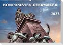 Komponisten-Denkmäler in Wien (Wandkalender 2022 DIN A2 quer)