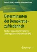 Determinanten der Demokratiezufriedenheit