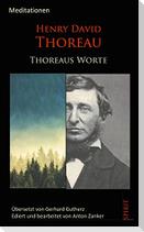 Thoreaus Worte