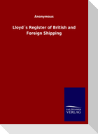 Lloyd´s Register of British and Foreign Shipping