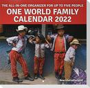 One World Family Calendar 2022
