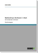 Machiavelli pur. Die Discorsi - 3. Buch