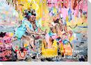Zoë MacTaggart Bewegte Farben (Tischkalender 2021 DIN A5 quer)