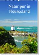 Natur pur in Neuseeland (Wandkalender immerwährend DIN A2 hoch)