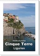 Weltkulturerbe Cinque Terre, Ligurien (Wandkalender 2022 DIN A3 hoch)