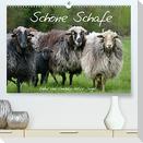 Schöne Schafe (Premium, hochwertiger DIN A2 Wandkalender 2022, Kunstdruck in Hochglanz)