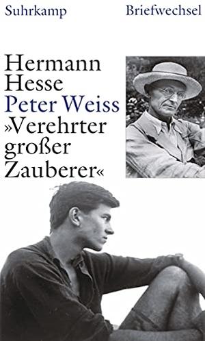 Hermann Hesse / Peter Weiss / Beat Mazenauer / Volker Michels. »Verehrter großer Zauberer« - Briefwechsel 1937–1962. Suhrkamp, 2009.