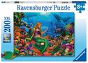Ravensburger Kinderpuzzle 12987 - Die Meereskönigin 200 Teile XXL - Puzzle für Kinder ab 8 Jahren