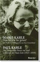 Was hätten Sie getan? /  Die Universität Bonn vor und während der Nazi-Zeit (1923-1939)