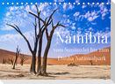 Namibia - Vom Sossusvlei bis zum Etosha Nationalpark (Tischkalender 2022 DIN A5 quer)
