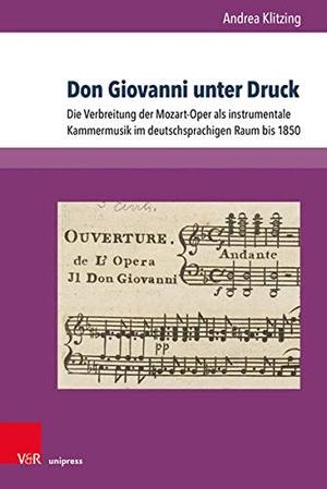 Andrea Klitzing. Don Giovanni unter Druck - Die Ve