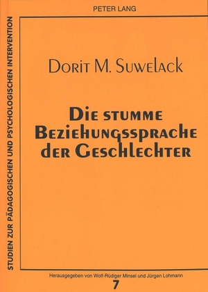Dorit Suwelack. Die stumme Beziehungssprache der Geschlechter - Eine Mikroanalyse des nonverbalen Interaktionsverhaltens gegen- und gleichgeschlechtlicher Dyaden. Peter Lang GmbH, Internationaler Verlag der Wissenschaften, 1998.