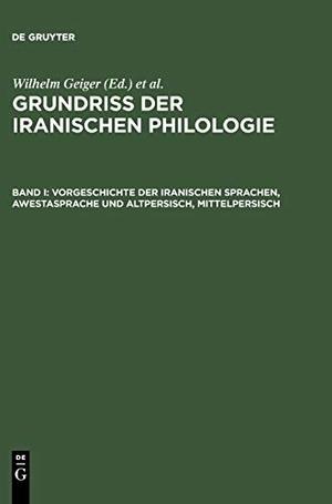 Geiger, Wilhelm / Ernst Kuhn (Hrsg.). Vorgeschicht
