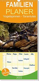 Vogelspinnen - Tarantulas - Familienplaner hoch (Wandkalender 2022 , 21 cm x 45 cm, hoch)
