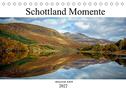 Schottland Momente (Tischkalender 2022 DIN A5 quer)