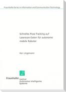 Schnelles Pose-Tracking auf Laserscan-Daten für autonome mobile Roboter