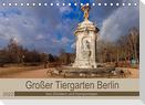 Großer Tiergarten Berlin - Von Dichtern und Komponisten (Tischkalender 2022 DIN A5 quer)