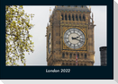 London 2022 Fotokalender DIN A4