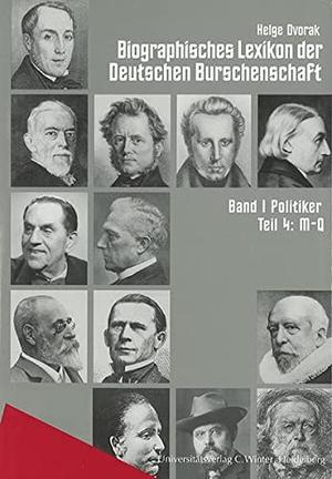 Helge Dvorak. Biographisches Lexikon der Deutschen Burschenschaften / M-Q. Universitätsverlag Winter GmbH Heidelberg, 2000.