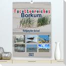 Facettenreiches Borkum (Premium, hochwertiger DIN A2 Wandkalender 2022, Kunstdruck in Hochglanz)