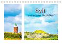 Sylt - malerische Ansichten (Tischkalender 2022 DIN A5 quer)