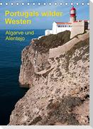 Portugals wilder Westen (Tischkalender 2022 DIN A5 hoch)