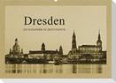 Dresden - Ein Kalender im Zeitungsstil (Wandkalender 2022 DIN A2 quer)