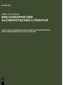Bibliografie der alchemistischen Literatur