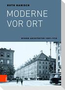 Moderne vor Ort
