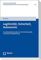 Legitimität, Sicherheit, Autonomie