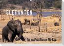 Elefanten - Die sanften Riesen Afrikas (Wandkalender 2022 DIN A2 quer)