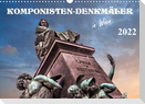Komponisten-Denkmäler in Wien (Wandkalender 2022 DIN A3 quer)