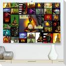 Buddha (Premium, hochwertiger DIN A2 Wandkalender 2021, Kunstdruck in Hochglanz)