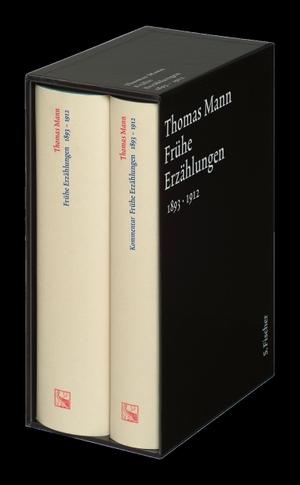 Thomas Mann / Terence James Reed. Frühe Erzählungen 1893-1912 - Text und Kommentar in einer Kassette. S. FISCHER, 2004.