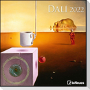 Dali 2022 - Wand-Kalender - 30x30 - 30x60 geöffnet