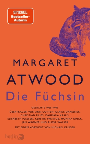 Atwood, Margaret. Die Füchsin - Gedichte 1966-199