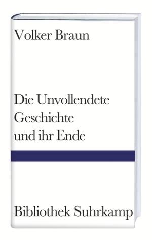 Volker Braun. Die Unvollendete Geschichte und ihr Ende. Suhrkamp, 1998.