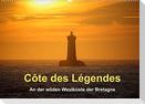 Côte des Légendes  An der wilden Westküste der Bretagne (Wandkalender 2022 DIN A2 quer)