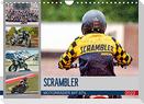 Scrambler Motorräder mit Stil (Wandkalender 2022 DIN A4 quer)